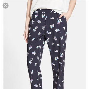 Nordstrom Chelsea 28 Floral Pant with pockets : M